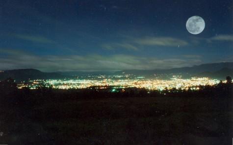 Quetzaltenango de noche