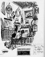 En Un Bar de Bohemios Guayo Tocaba su violin